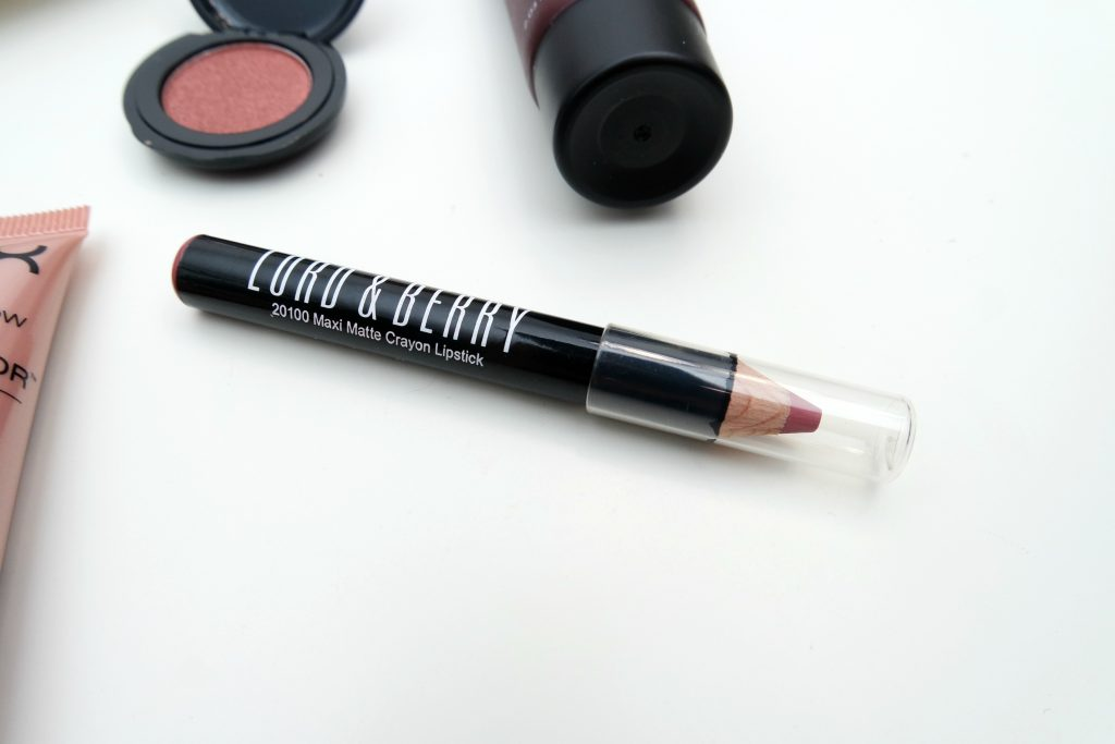 Lord & Berry 20100 maximatte crayon lipstick in Intimacy