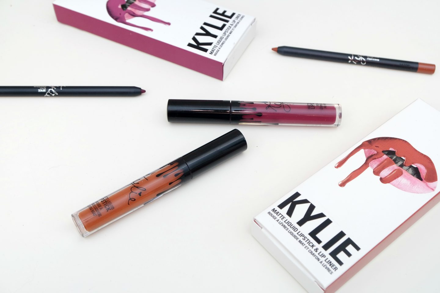 Kylie Cosmetics Pumpkin and Spice Lip Kits