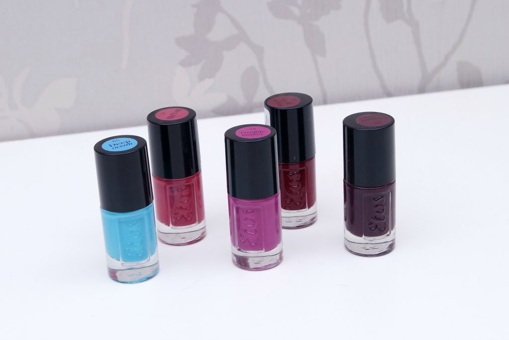 Etos Nail Polishes