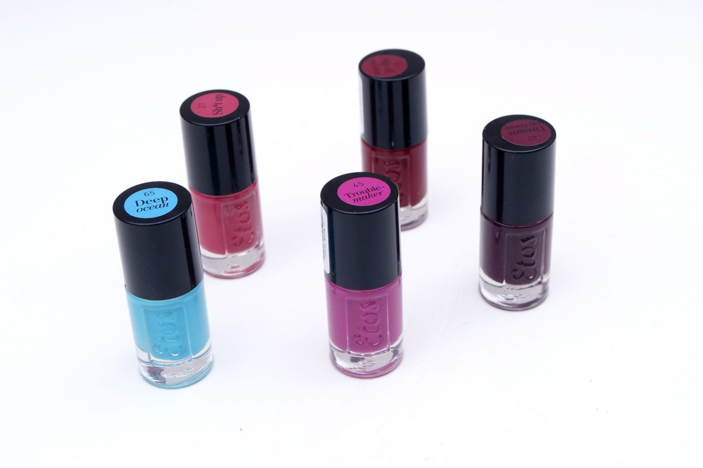 Etos Nail Polishes + Giveaway!