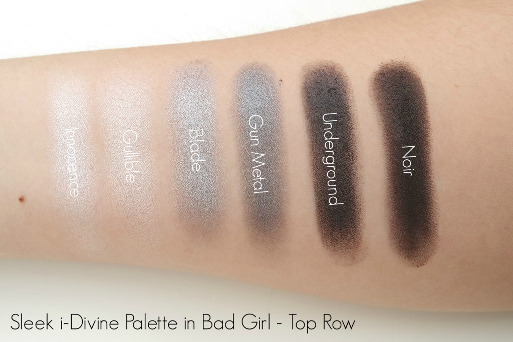 sleek-i-divine-bad-girl-palette-swatch-top-row