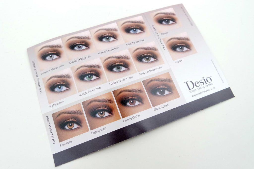 Desio Color Contact Lenses in Desert Dream - The Beautynerd