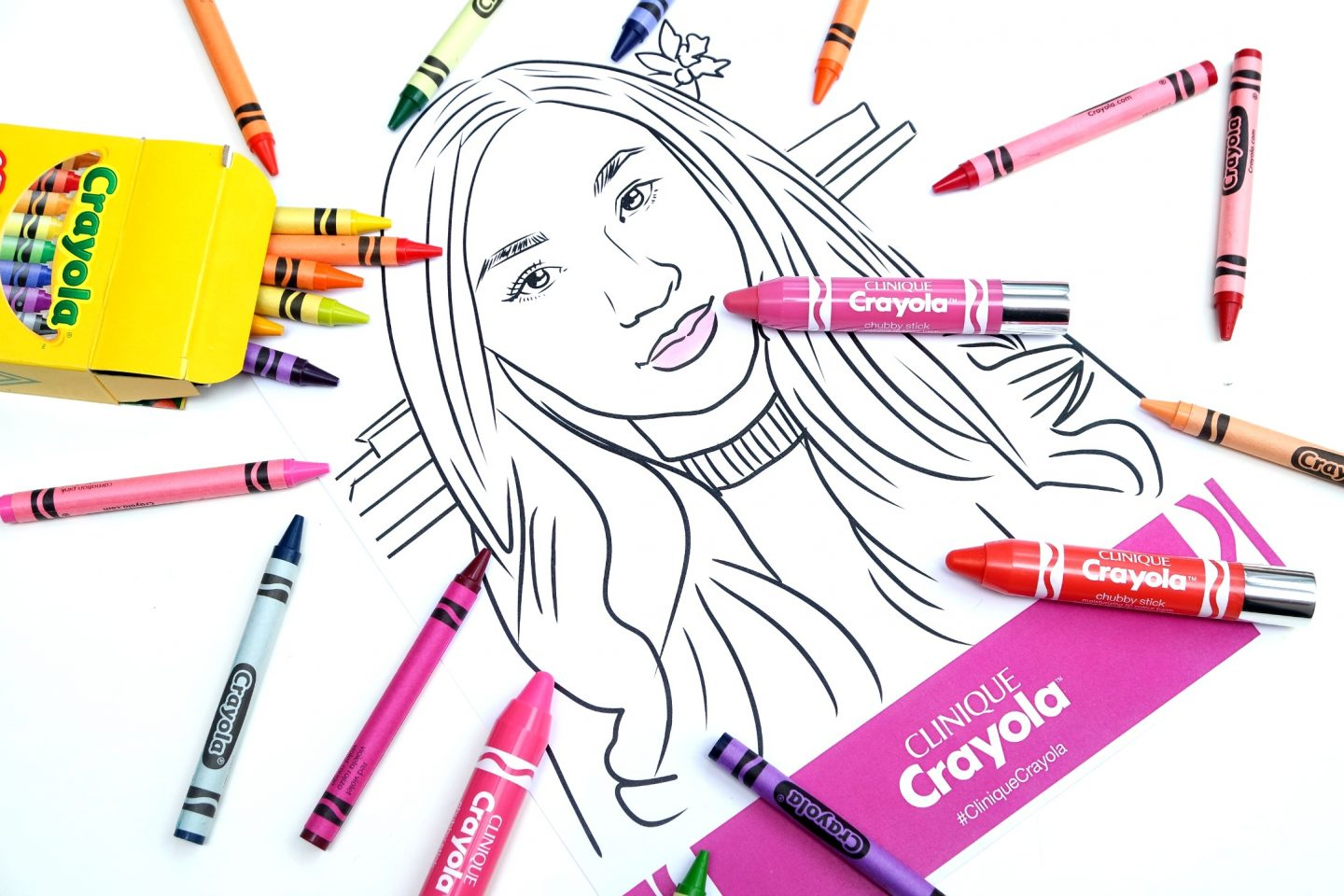 Clinique Crayola Chubby Stick Collection
