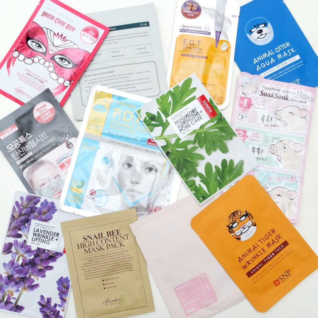 http://www.thebeautynerd.nl/skincare/korean-beauty-store-ippo-cosmetics-sheet-masks-review/