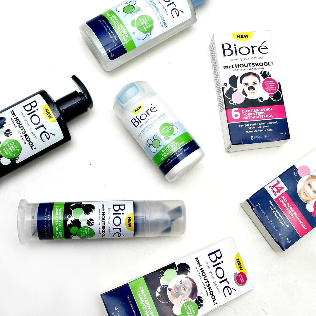 Bioré Free Your Pores! Baking Soda and Charcoal Line - The Beautynerd