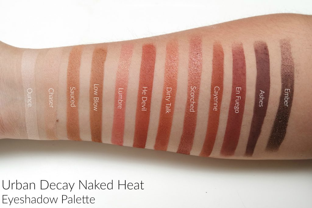 Naked Heat Eyeshadow Palette by Urban Decay #19