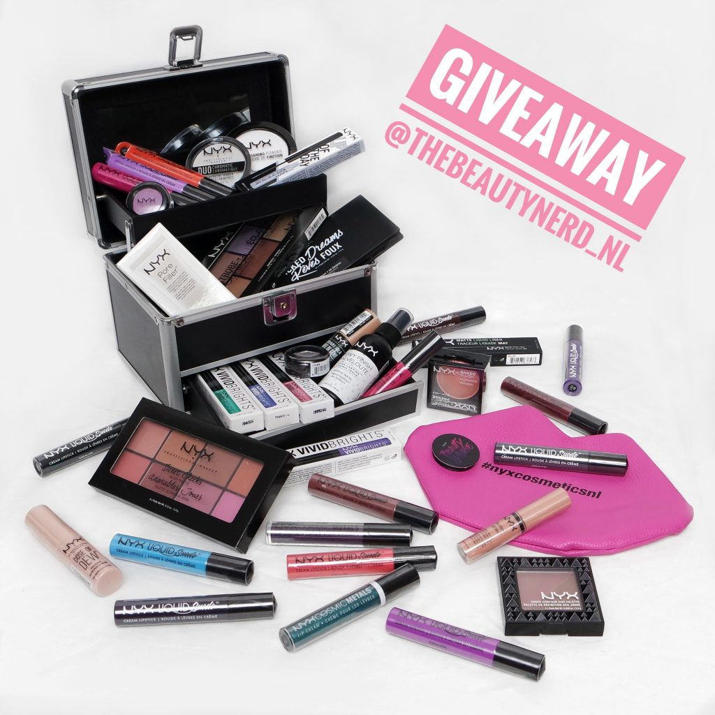Giveaway Win Nyx Professional Make Up