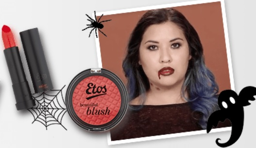 Simple Halloween Look in Collaboration with Etos
