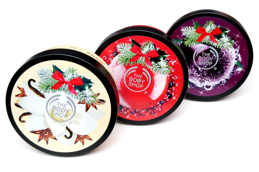 The Body Shop Holiday Season 2017 Body Butters