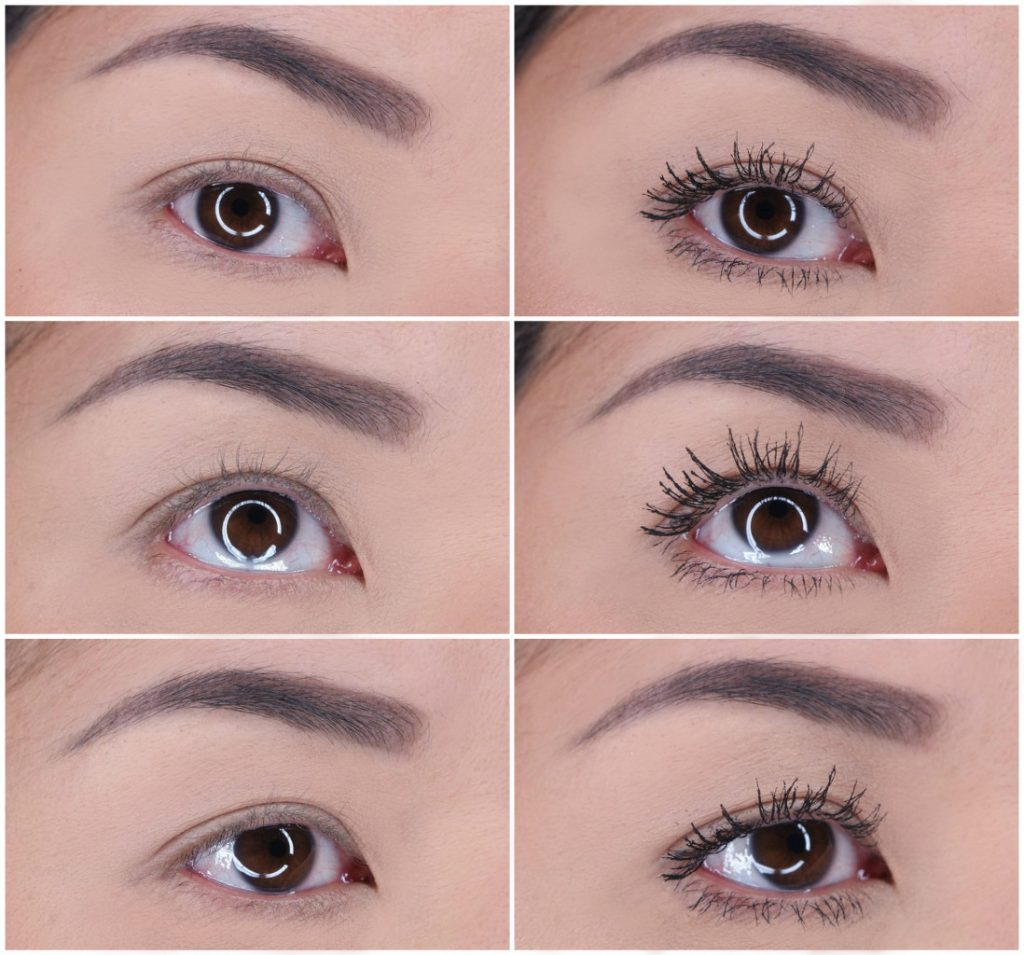8773080b3eb Here are before/after shots using the Clinique High Impact Lash Elevating  Mascara. I use false eyelashes so I am quite harsh when I try to remove the  ...