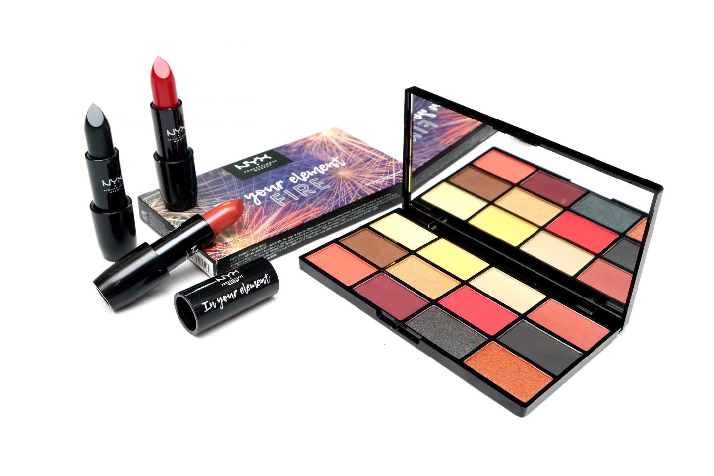 NYX Professional Makeup In Your Element Fire Collection Review