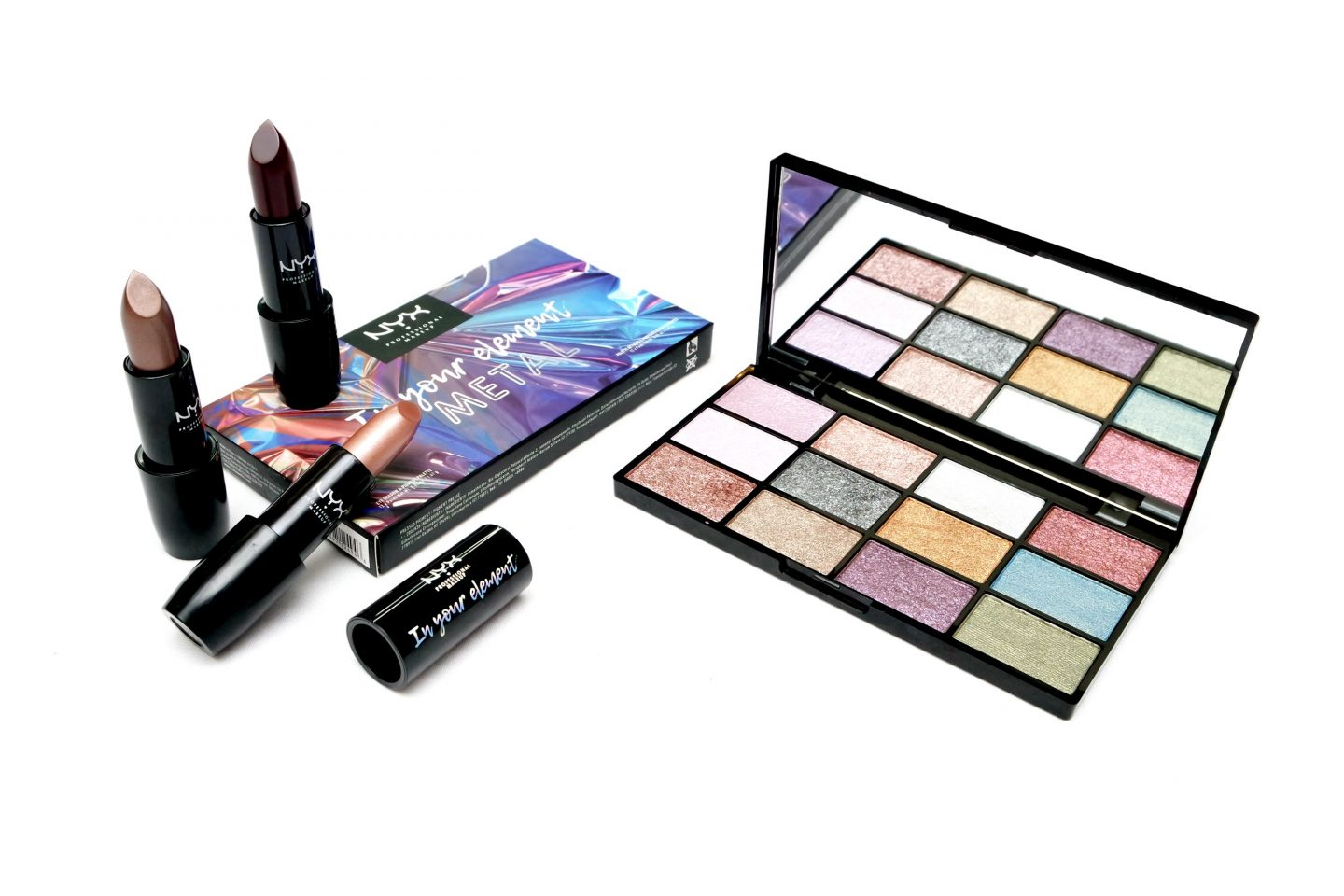 NYX Professional Makeup In Your Element Metal Collection Review
