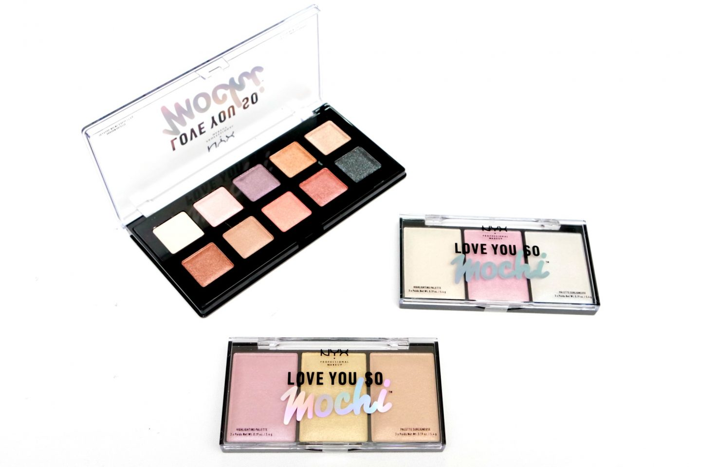 NYX Professional Makeup Love You So Mochi Collection Review