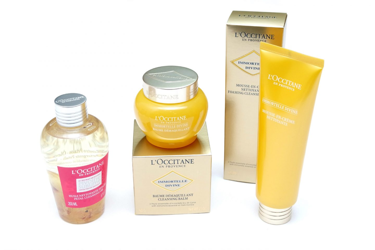 Skin Cleansing with L'Occitane