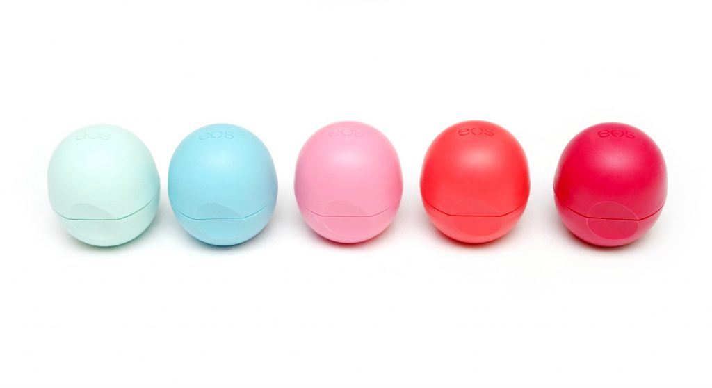 Soft Valentines Day Lips With Eos Lip Balms Giveaway The