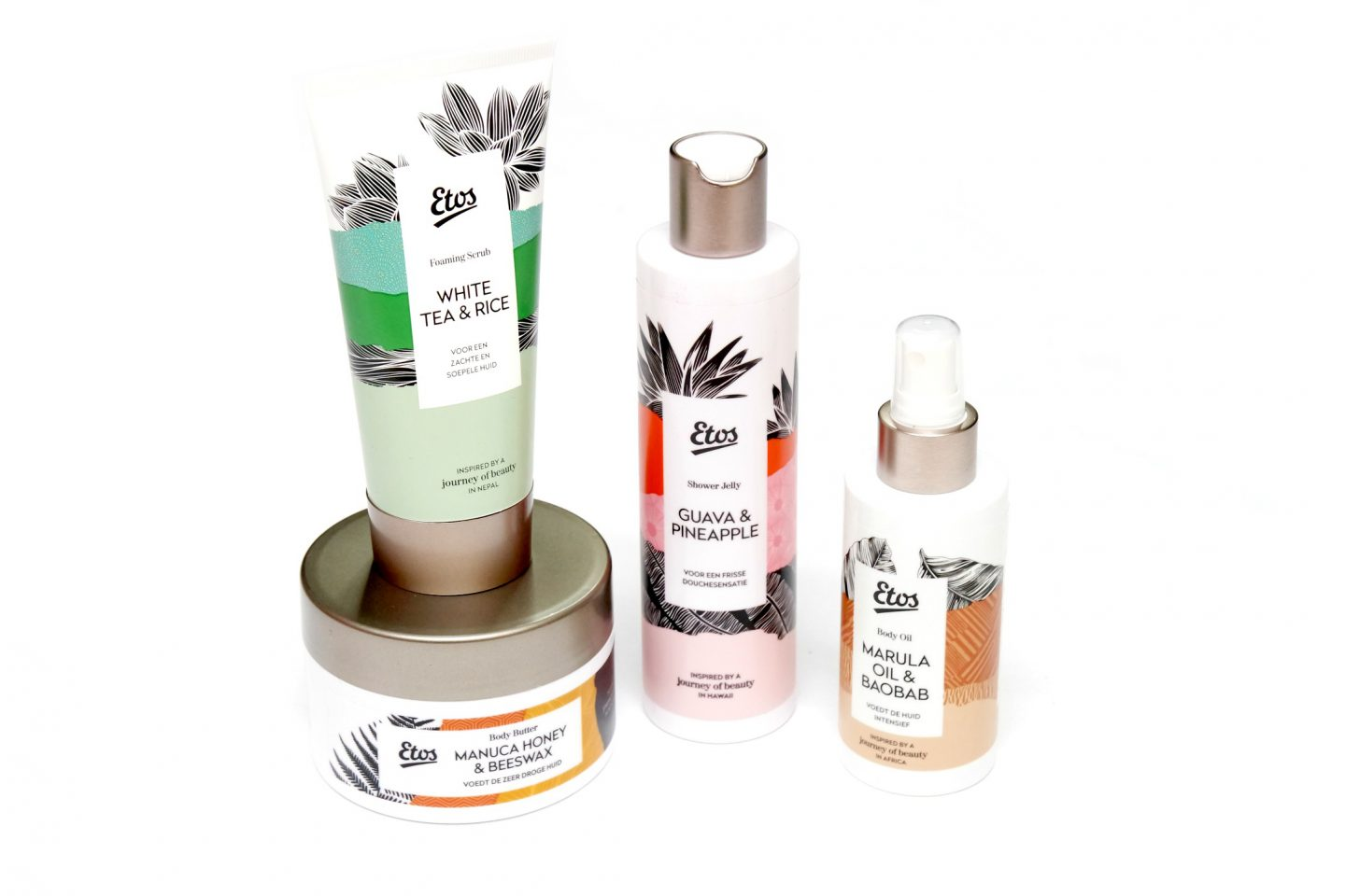Discover the Etos Journey of Beauty Wellness Lines