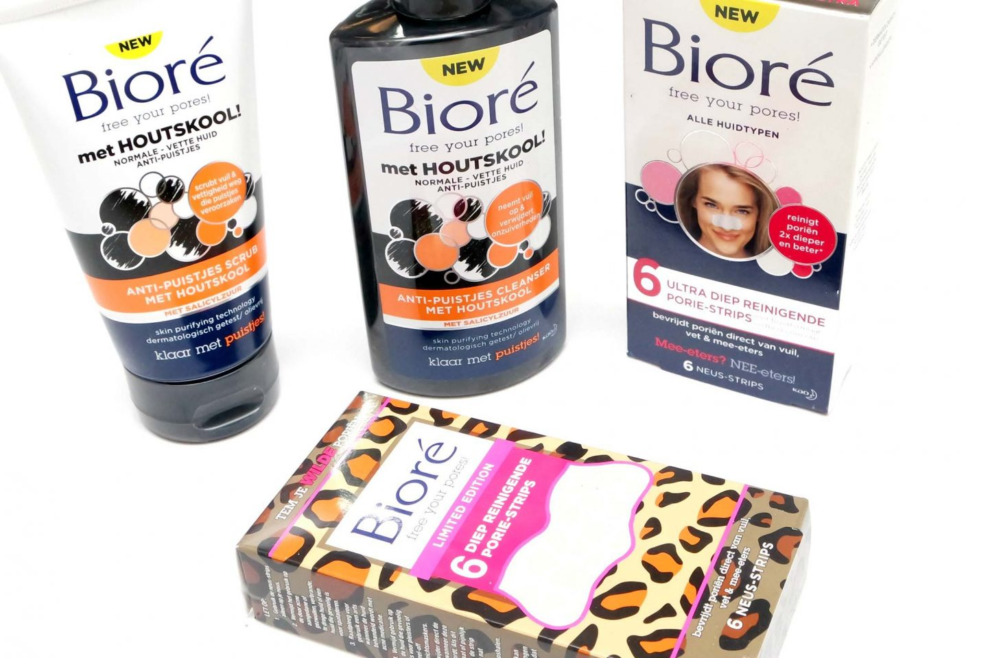 Bioré Acne Clearing Products Review