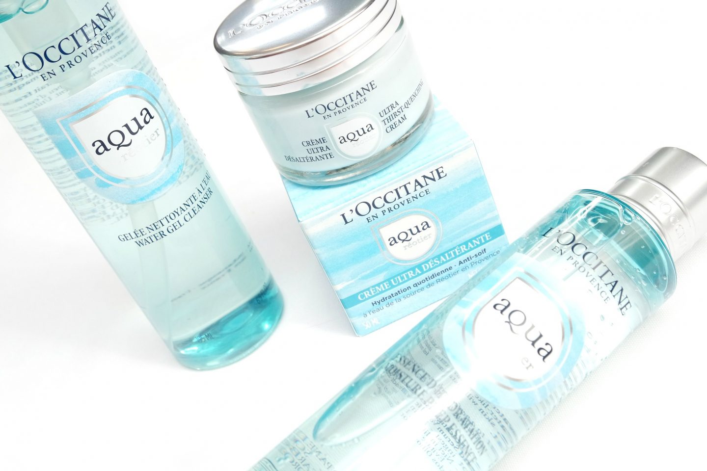 L'Occitane Aqua Réotier Collection Review