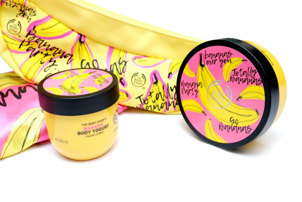 The Body Shop Banana Body Care Line Review