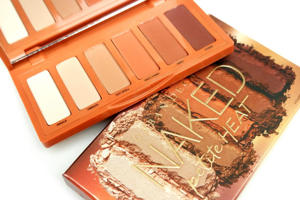 Urban Decay Naked Petite Heat Eyeshadow Palette Review