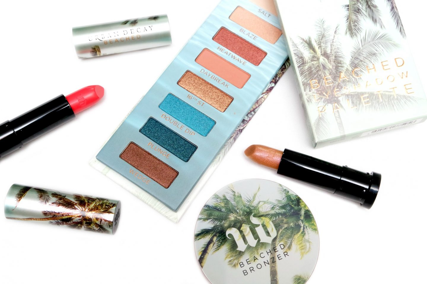 Urban Decay Beached Collection Review