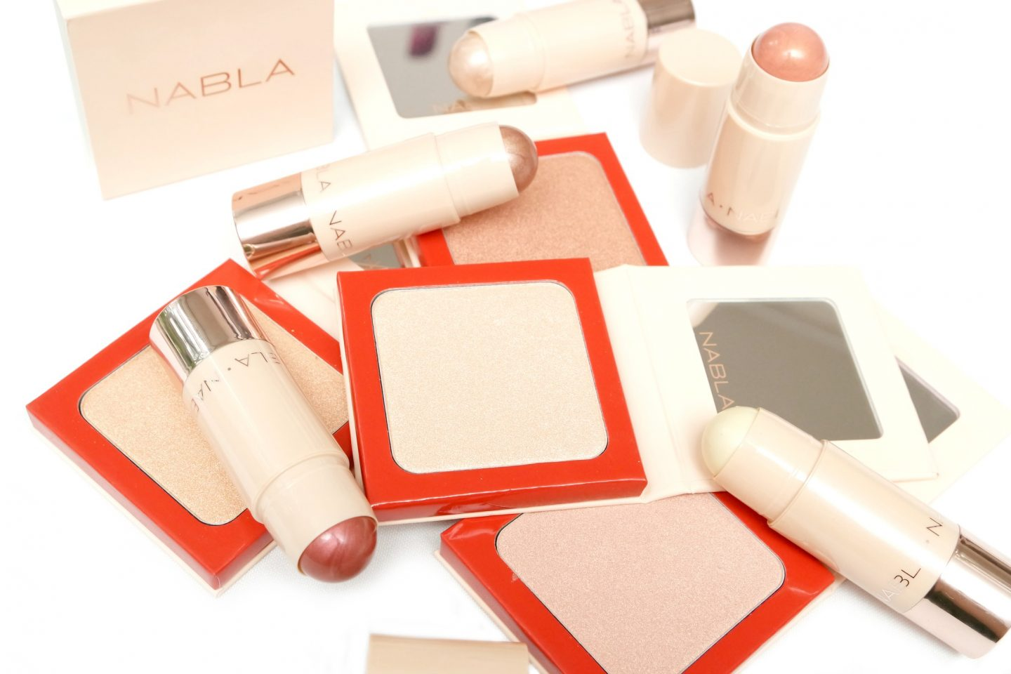 NABLA Denude Collection Review – Highlighters