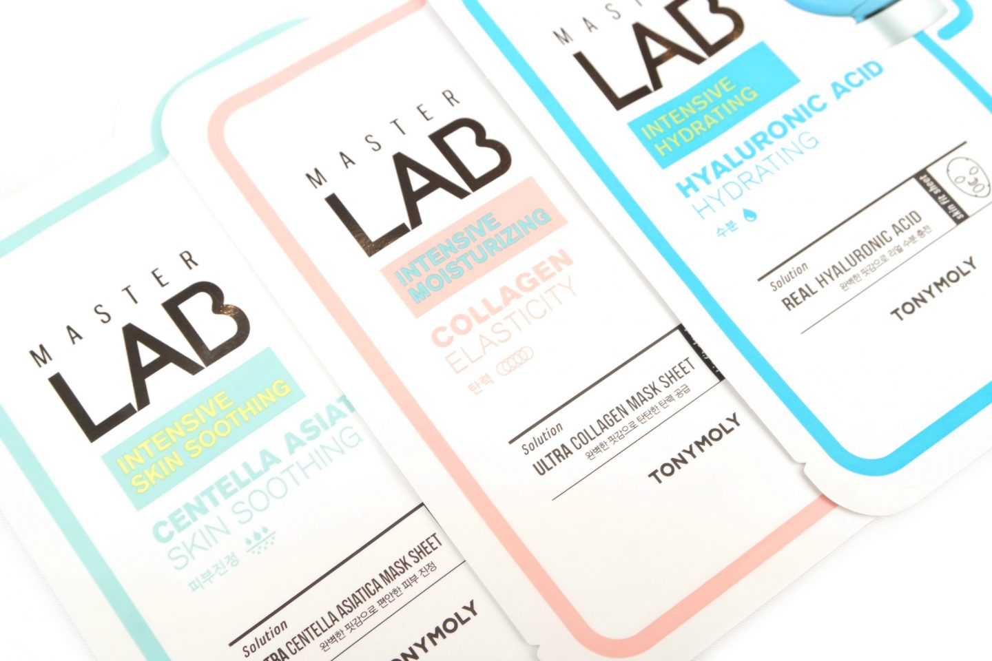 TONYMOLY Master Lab Sheet Masks Review