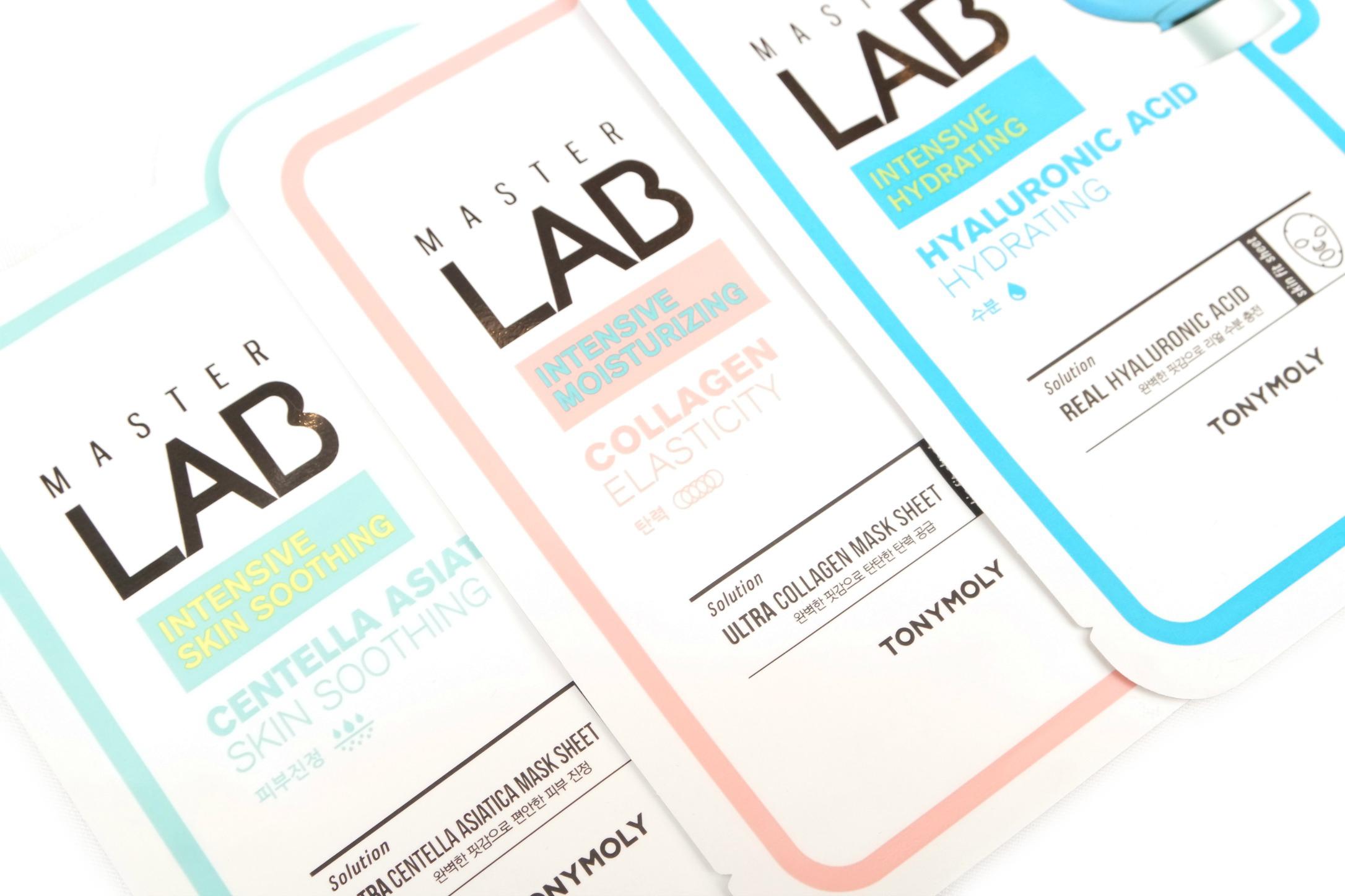 Tonymoly Master Lab Sheet Masks Review The Beautynerd