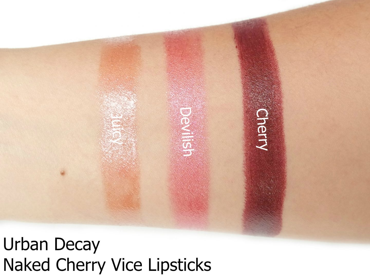 Urban Decay Naked Cherry Collection Review - The Beautynerd
