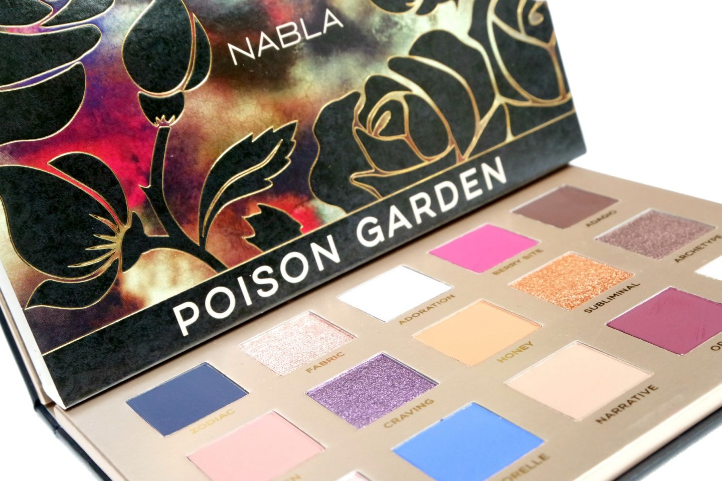 NABLA Poison Garden Palette Review