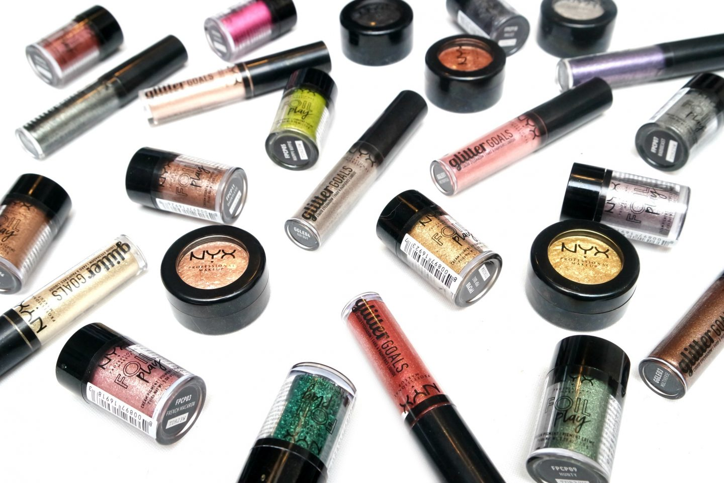 NYX Professional Makeup Foils and Glitter Eye Products
