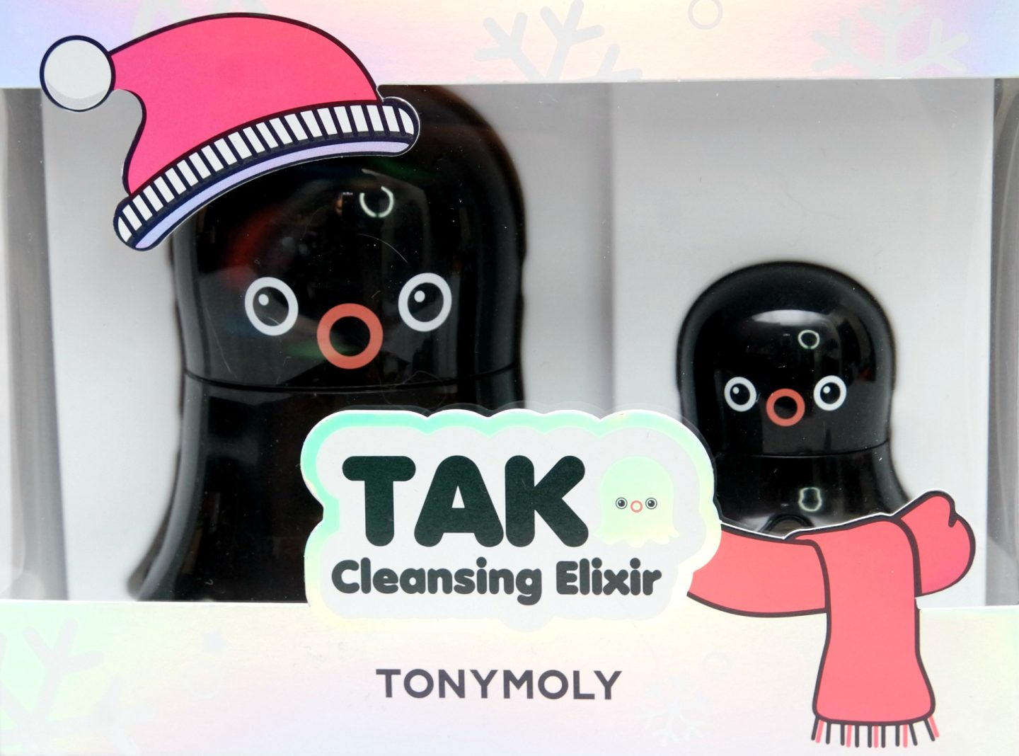 TONYMOLY Tako Cleansing Elixir Holiday Set Review