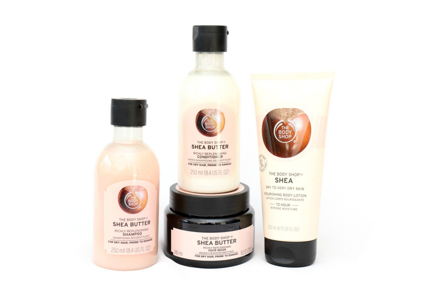 The Body Shop New Shea Butter Products Review