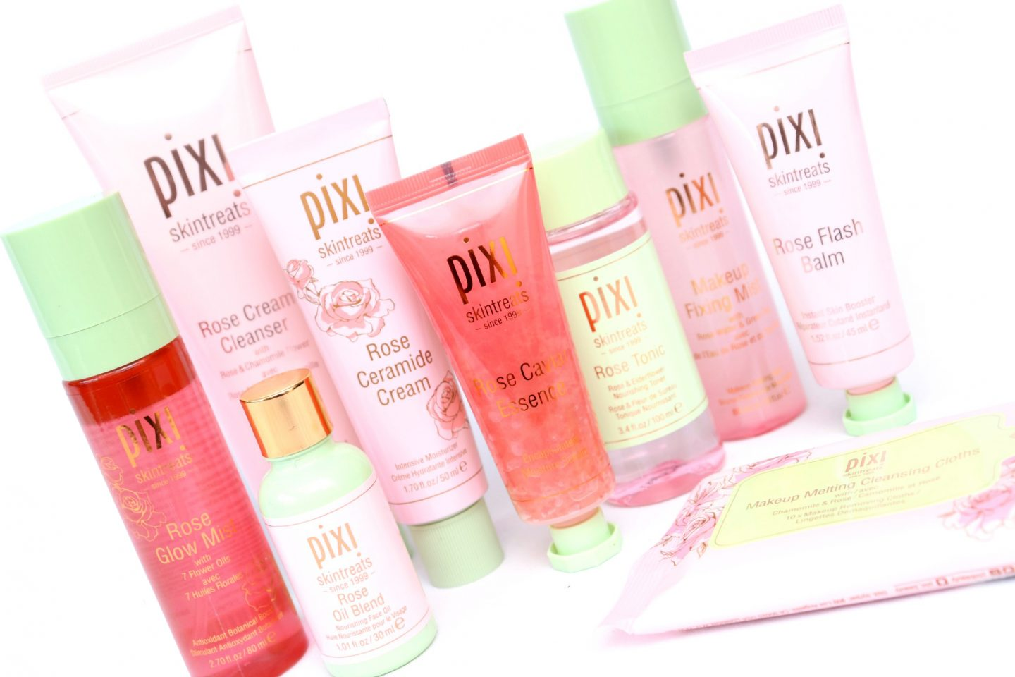Pixi Rose Infused Skintreats Collection Review