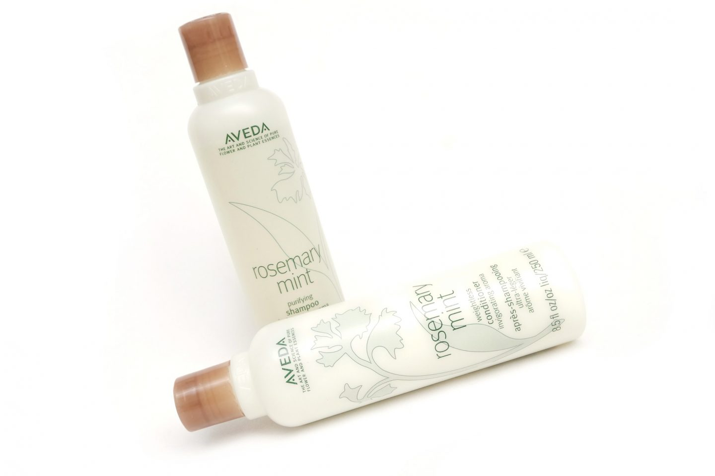 Aveda Rosemary Mint Hair Products Review