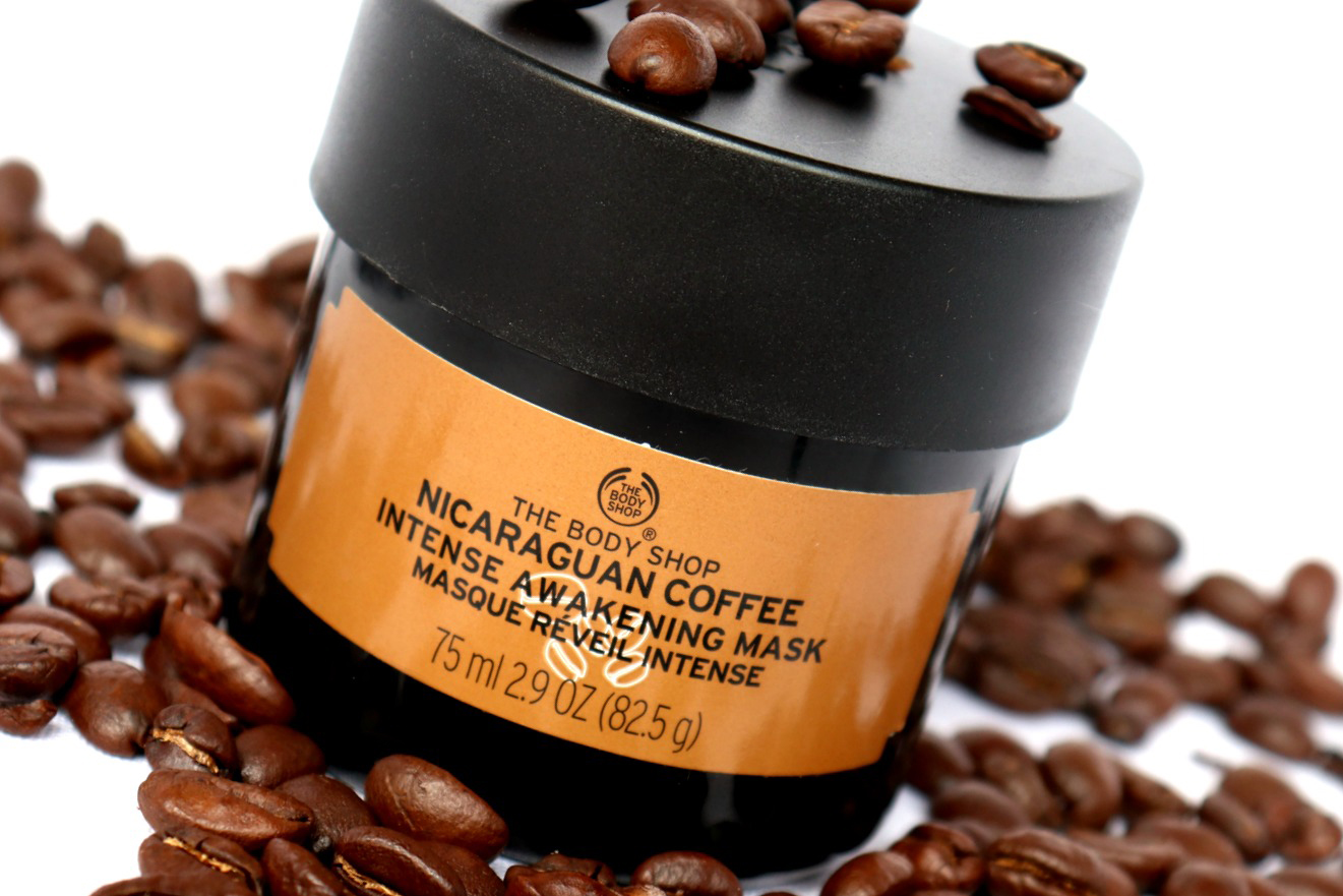 The Body Shop Nicaraguan Coffee Intense Awakening Mask Review The Beautynerd