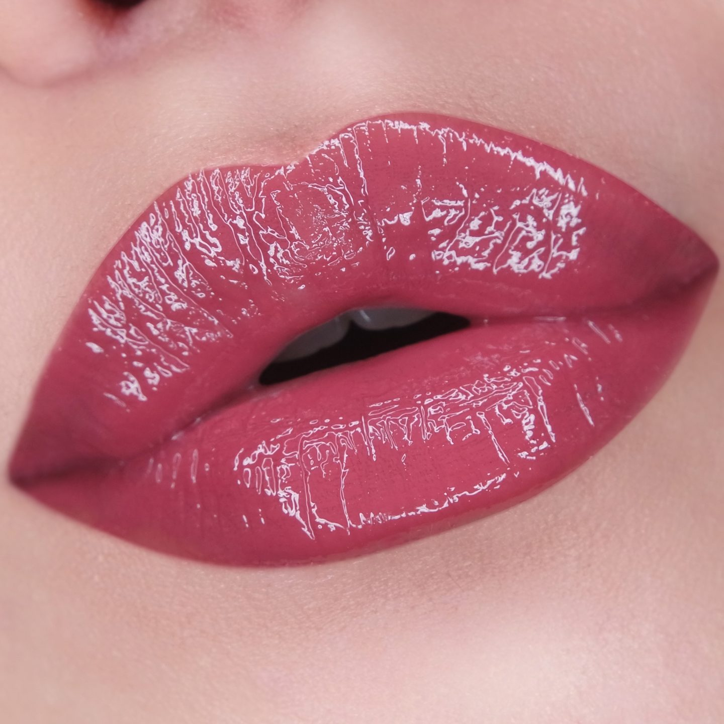 NARS Lip Gloss in Fever Beat Swatch