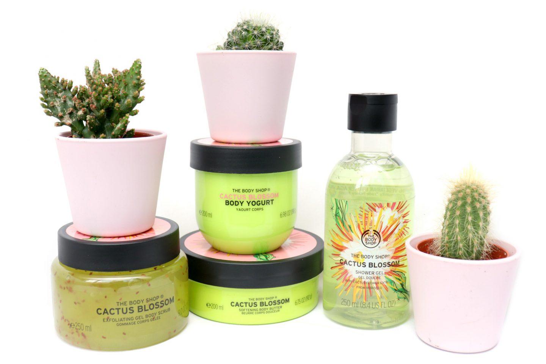 The Body Shop Cactus Blossom Line Review