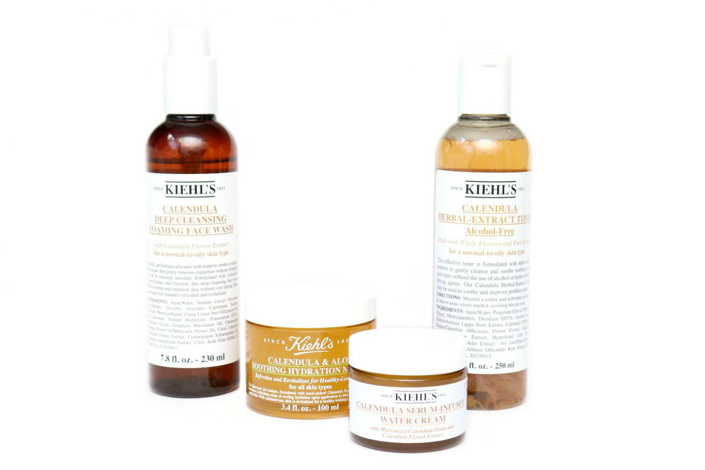 Kiehl's Calendula Collection Review