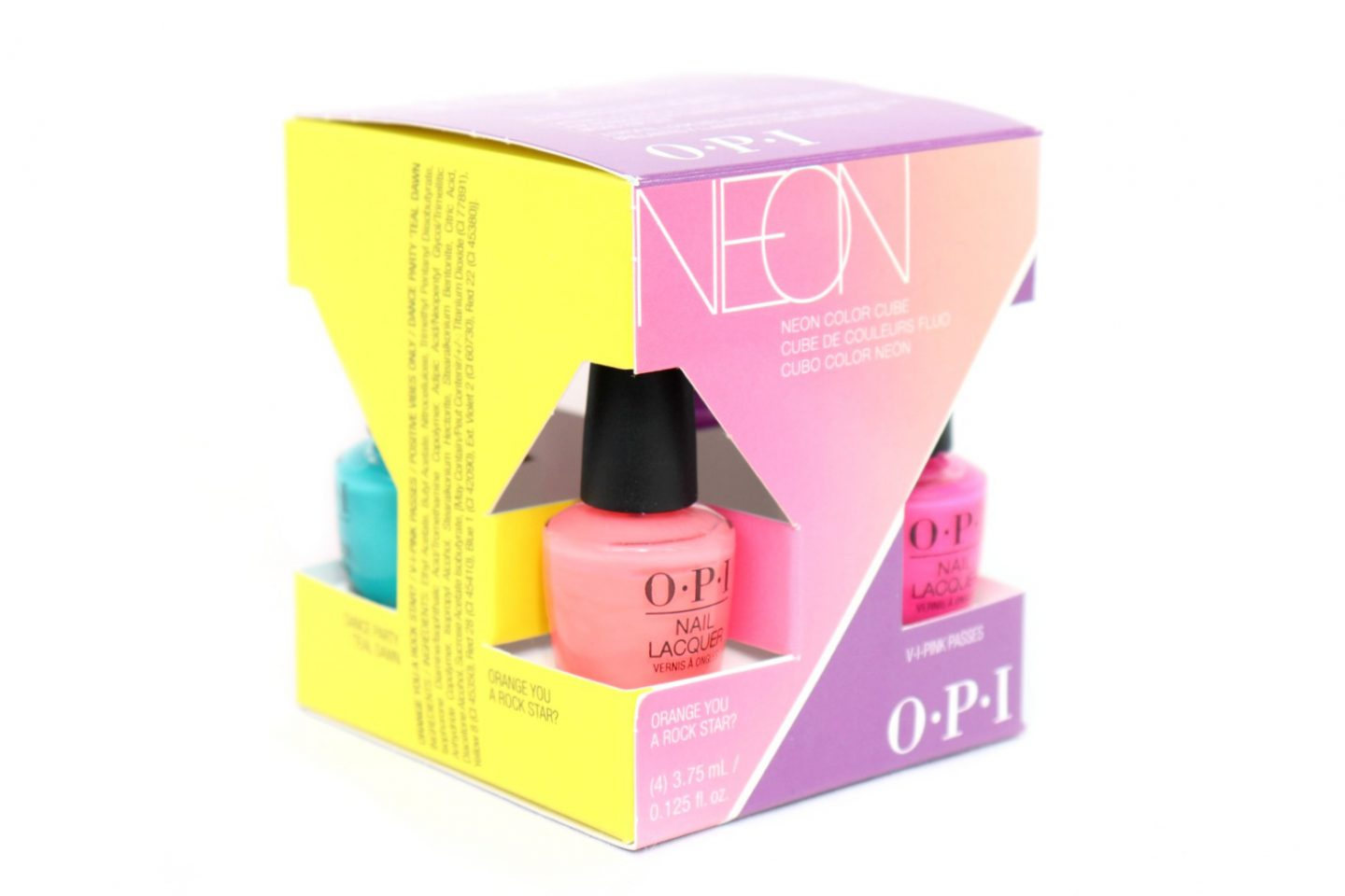 OPI Neon Color Cube review