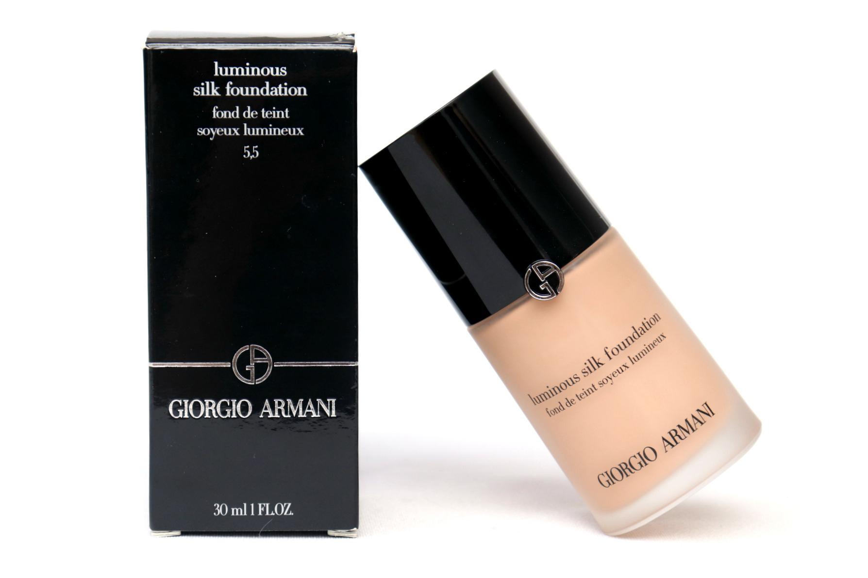 Giorgio Armani Luminous Silk Foundation Review The Beautynerd