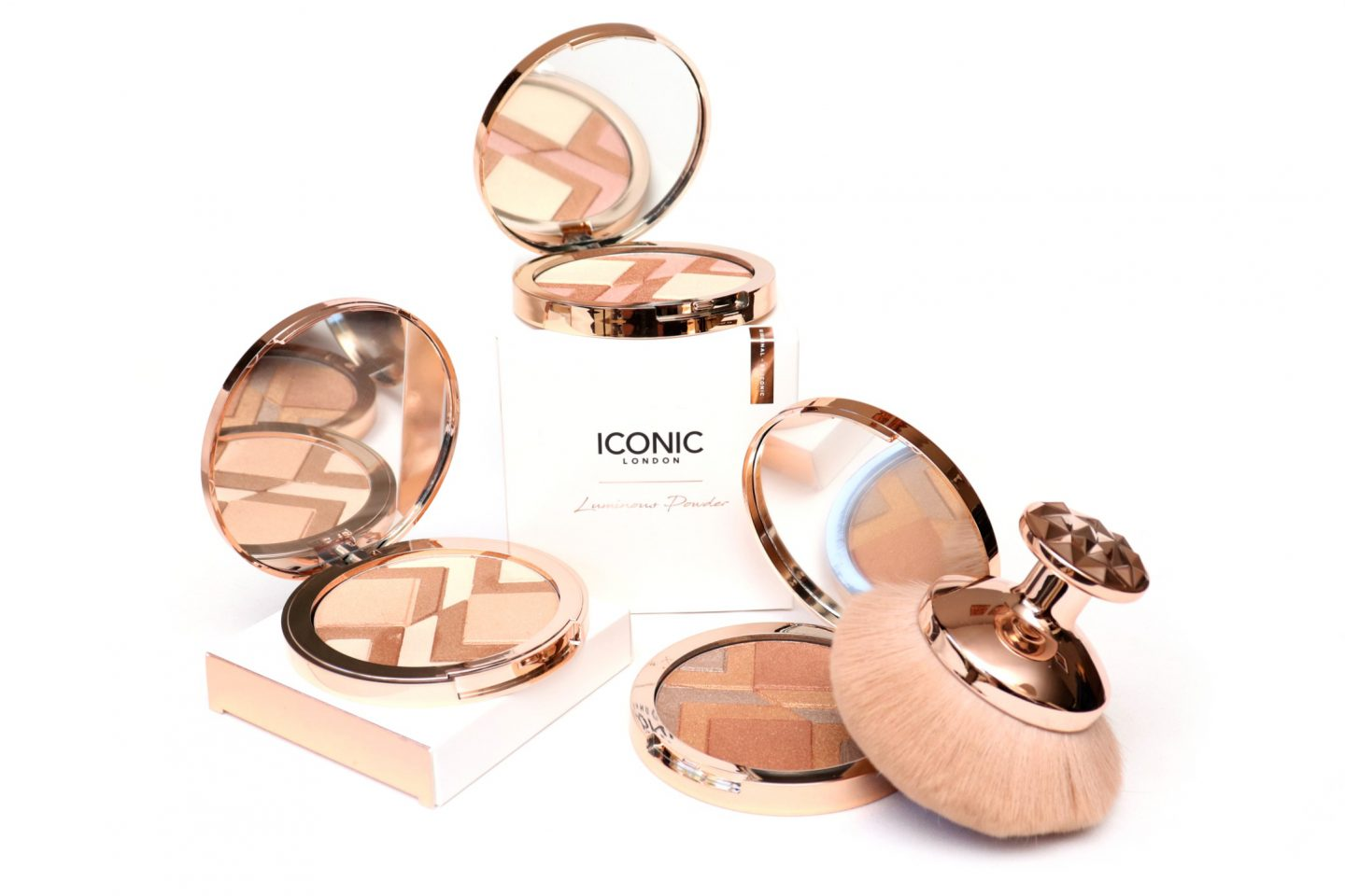 ICONIC London Luminous Powder Collection Review