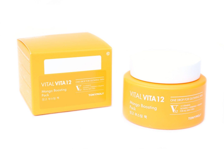 TONYMOLY Vital Vita 12 Mango Boosting Pack Review