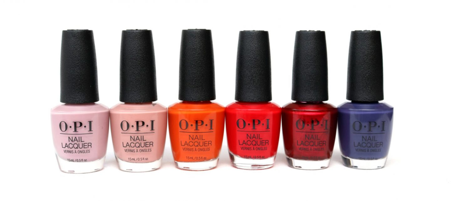 OPI Scotland Collection - Fall/Winter 2019 Review