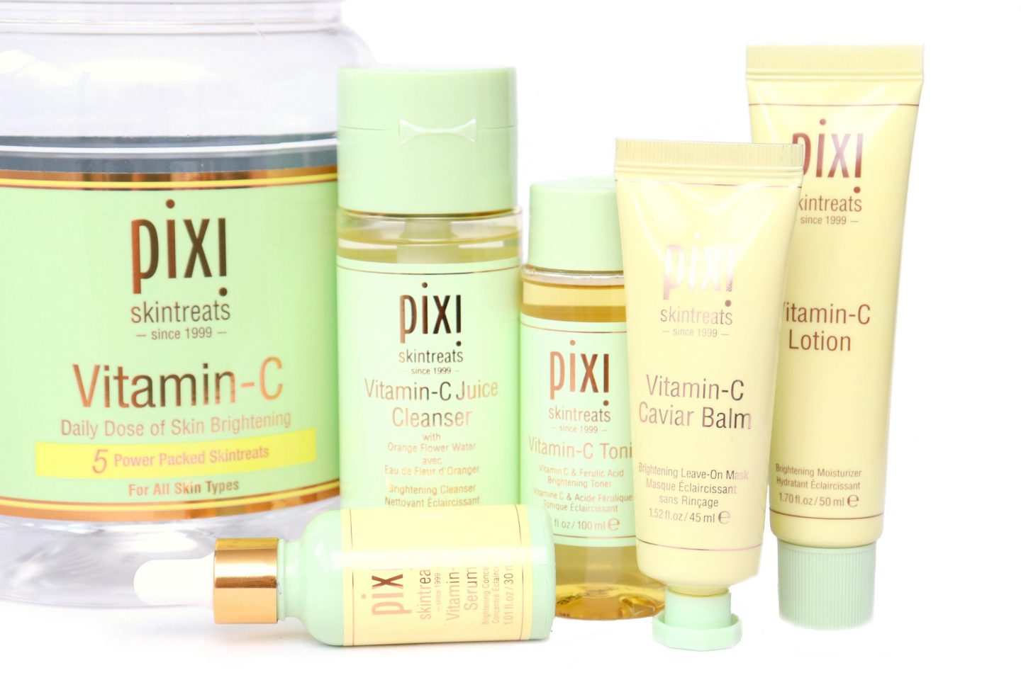 Pixi Vitamin-C Collection Review
