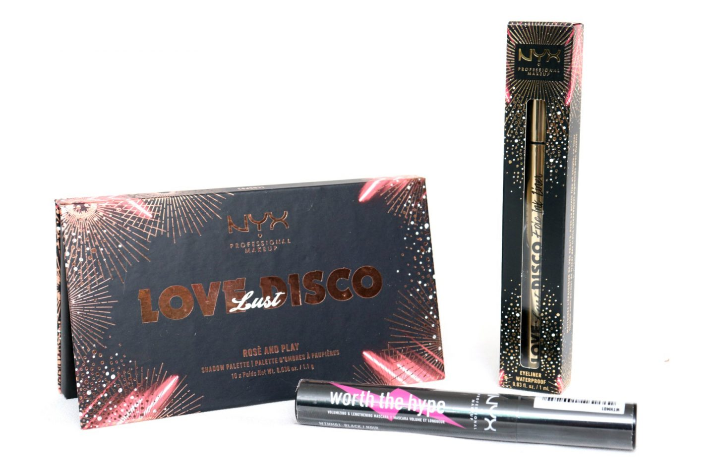 NYX Professional Makeup Love Lust Disco Holiday 2019 Collection