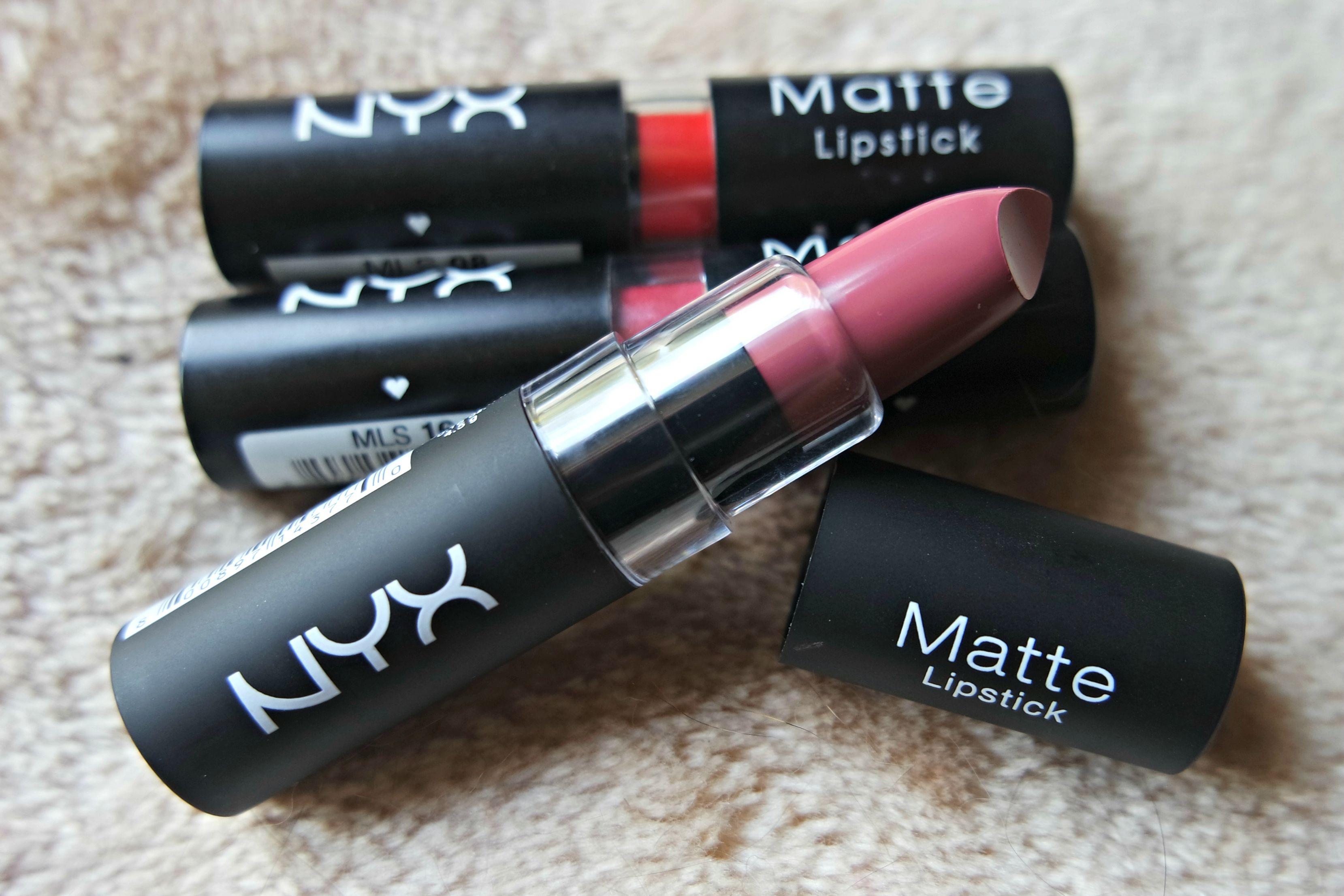 NYX Matte Lipsticks - The Beautynerd