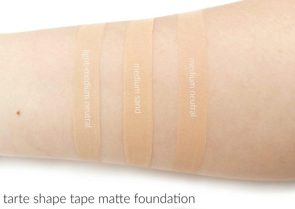 Shape Tape Matte Foundation By Tarte