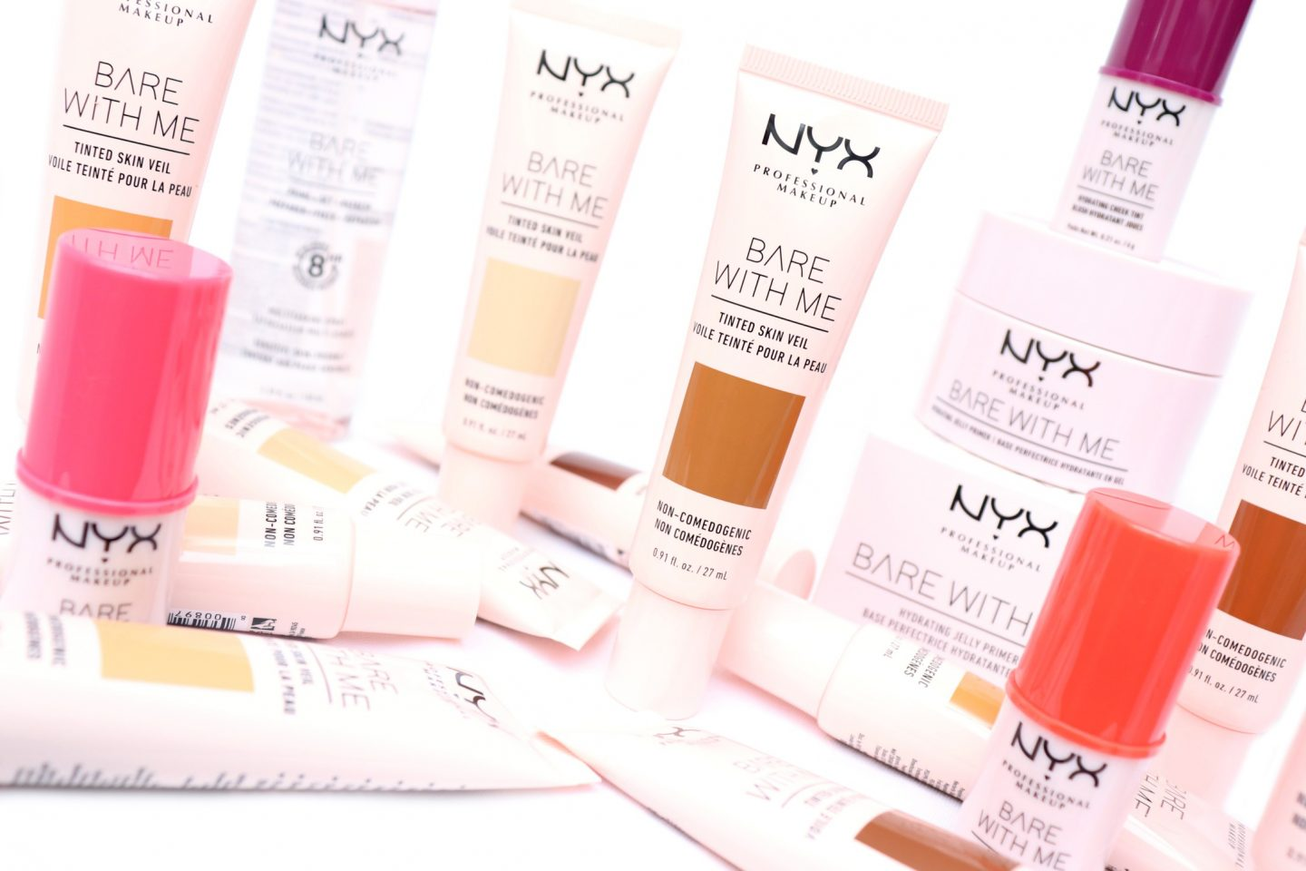 NYX Professional Makeup Bare With Me Collection Review